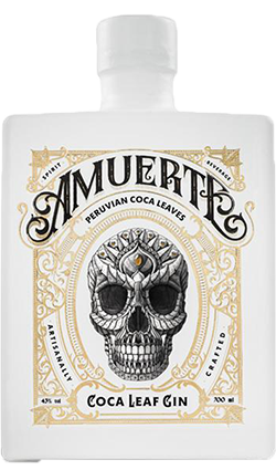 Amuerte Coca Leaf Gin - White Edition 700ml