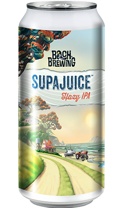 Bach Brewing SUPAJUICE Hazy IPA 440ml