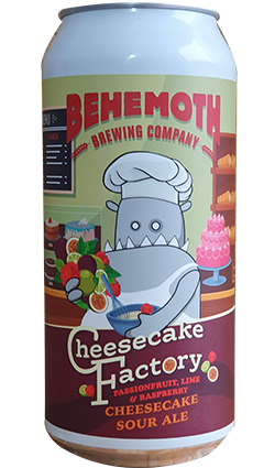 Behemoth Cheesecake Factory Sour Ale 440ml