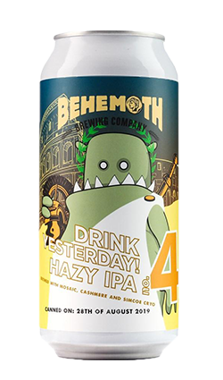 Behemoth Drink Yesterday Hazy IPA #4 440ml