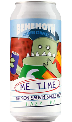 Behemoth Me Time #1 Nelson Sauvin Hazy IPA 440ml