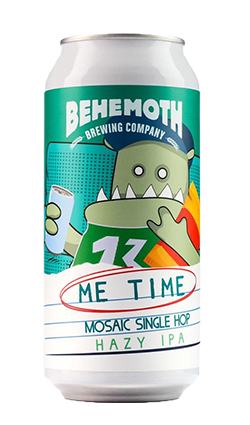 Behemoth Me Time #2 Mosaic Hazy IPA 440ml