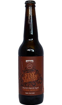 Behemoth Stay Classy Barrel Aged Imperial Scotch Ale 500ml