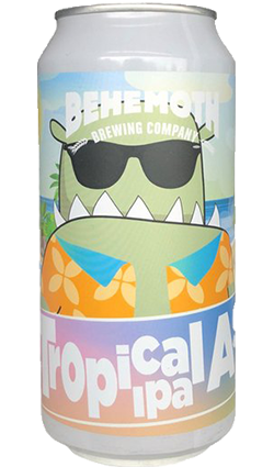 Behemoth Tropical As IPA 440ml Can