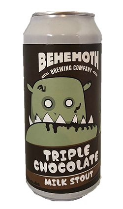 Behemoth Triple Chocolate Milk Stout 440ml CAN