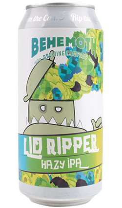 Behemoth Lid Ripper Hazy IPA 440ml Can