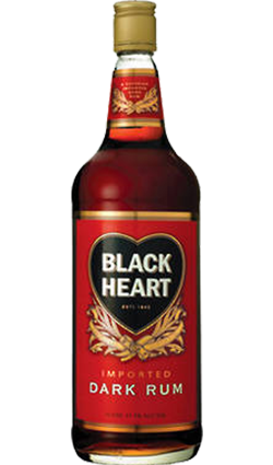 Black Heart Rum 1000ml