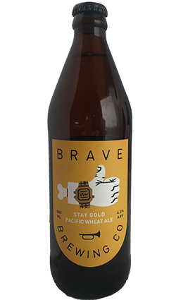 Brave Brewing Pacific Wheat Ale 500ml