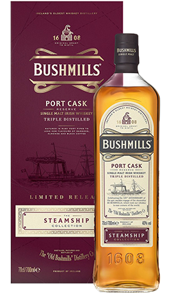 Bushmills Steamship Port Cask 700ml
