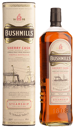 Bushmills Steamship Sherry Cask 1000ml