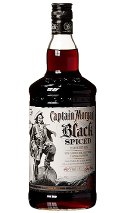 Captain Morgan Black Spiced 1000ml