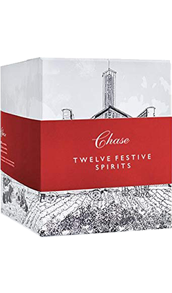 Chase Twelve Days of Festive Spirit Gift packs 12 x 50ml