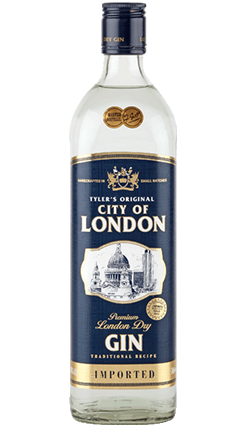 City of London Dry Gin 1000ml