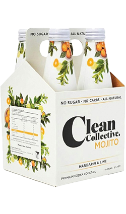 Clean Collective Mojito Mandarin & Lime 300ml 4pk