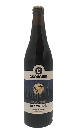 Croucher Moonride Black IPA 500ml