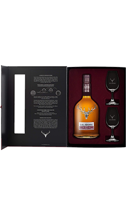 Dalmore 12YO 700ml with 2 glasses