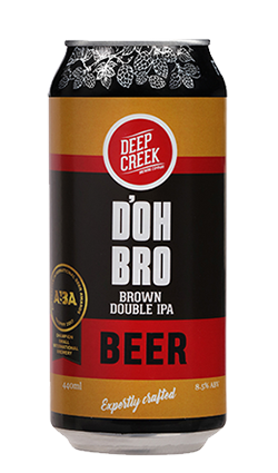 Deep Creek Dobro Double Brown IPA 440ml