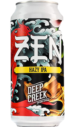 Deep Creek Zen Hazy IPA 440ml Can
