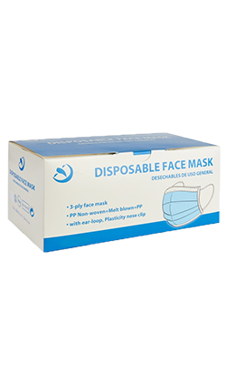 Disposable Face Masks - 20pk
