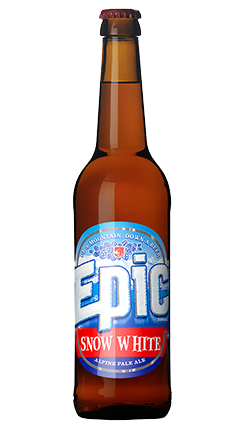Epic Snow White Alpine Pale Ale 500ml