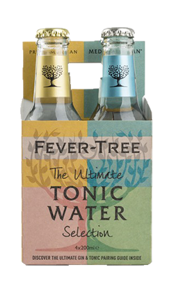 Fever Tree Mixed Pack 200ml 4pk - BB Feb 2021