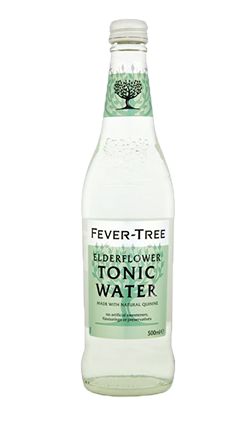 Fever Tree Elderflower Tonic Water 500ml (BB Feb 2020)