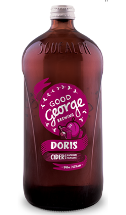 Good George Doris Plum Cider Squealer 946ml