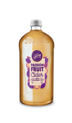 Good George Passionfruit Cider SQUEALER 946ml