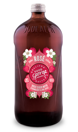 Good George Rose Cider 946ml