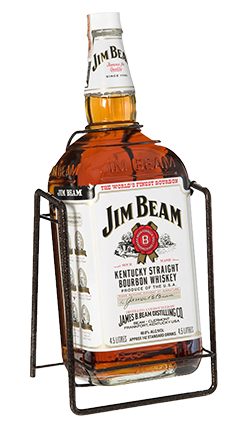 Jim Beam 4500ml on Swing Cradle