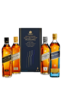 Johnnie Walker 4 Pack Collection