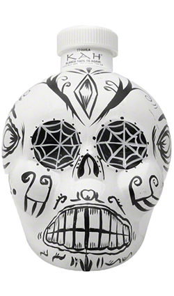 Kah Tequila Blanco White Skull 50ml