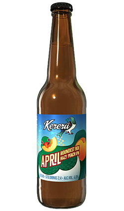 Kereru April Roundest Boi IPA 500ML