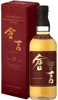Kurayoshi 12YO Malt Whisky 700ml
