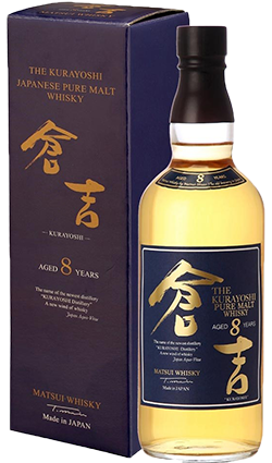 Kurayoshi 8YO Malt Whisky 700ml