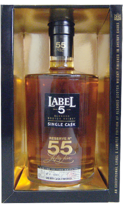 Label 5 Single Cask Whisky 700ml