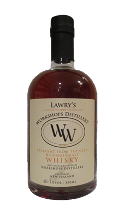 Lawry's Workshops Whisky 'Straight from the Cask' 500ml