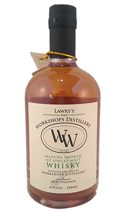 Lawry's Workshops Whisky Manuka Smoked 500ml