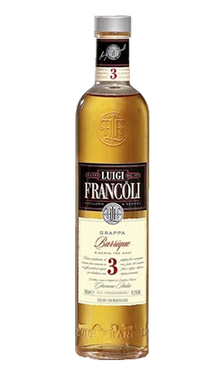 Luigi Francoli Grappa 3YO 700ml