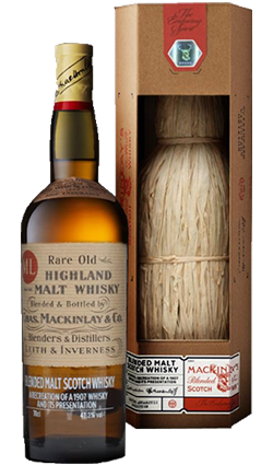 MacKinlays Rare Old Highland Malt Shackletons 2nd Edition 700ml