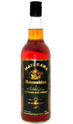 Matakana Moonshine Amber Lightning Whiskey 700ml