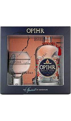 Opihr Gin Giftset + Globe Glass 700ml
