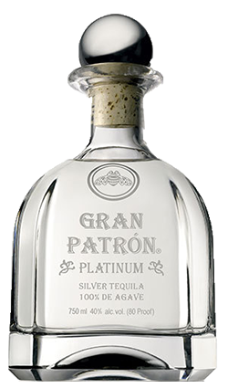Patron Platinum Gift Box Tequila 750ml