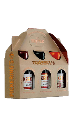 Pickering's Gin Triple pack 3 x 50ml