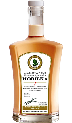 Puhoi Horilka (Honey & Chilli Ukrainian style vodka) 750ml