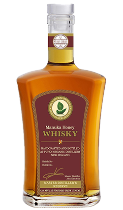 Puhoi Manuka Honey Whisky 750ml