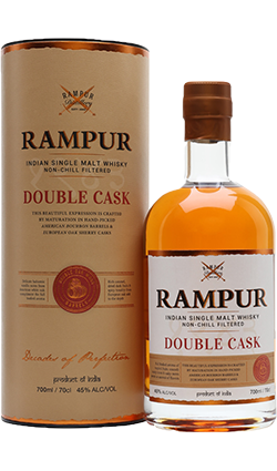 Rampur Double Cask Indian Whisky 750ml