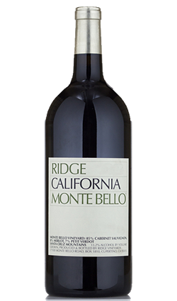 Ridge Monte Bello 2007 3000ml