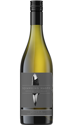 Squawking Magpie the Gravels Chardonnay 2019 750ml
