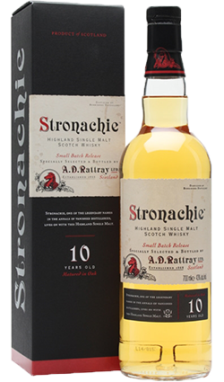 Stronachie 10YO Single Malt 43% 700ml